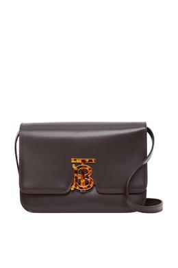 Коричневая сумка-кроссбоди TB Burberry 10188067