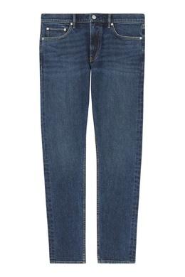 Синие джинсы из плотной ткани Burberry 10188084