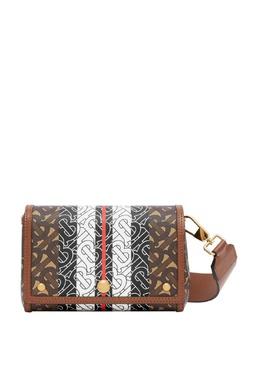 Небольшая сумка с монограммами Burberry 10188083