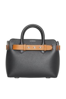 Черная сумка Triple Stud Belt Burberry 10187993