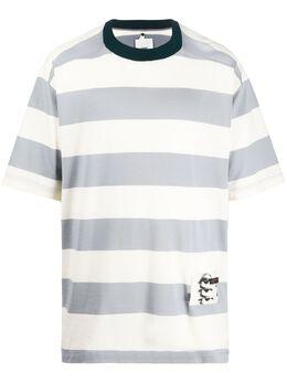 Oamc полосатая футболка оверсайз 700931246008