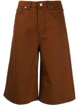 Ganni knee-length denim shorts F4666