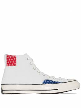 Converse Chuck 70mm high top suede sneakers 166854C