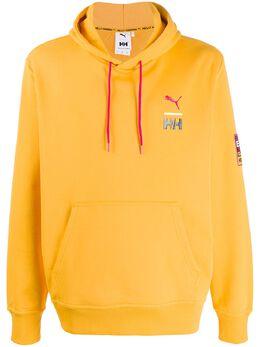 Puma logo printed hoodie 597149