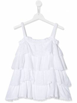 Dondup Kids TEEN tiered strappy top YC177TPTD