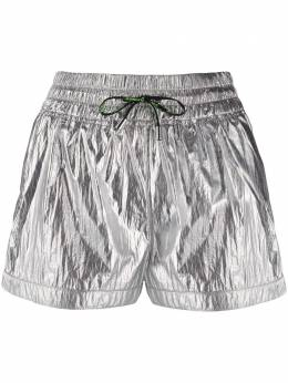 Pinko metallic-print track shorts 1C1073Y5YZI17