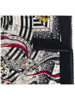 Faliero Sarti шарф с принтом NEWFOXE202115