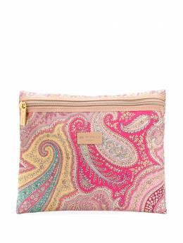 Etro paisley-print logo make-up bag 028740024