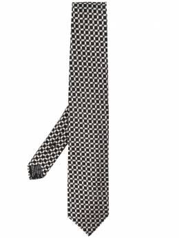 Tom Ford галстук с геометричным узором XTA7TF46