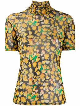 Each X Other high neck printed top SS20G11200A