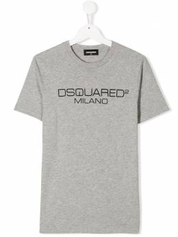 Dsquared2 Kids футболка с логотипом DQ03WD00YW