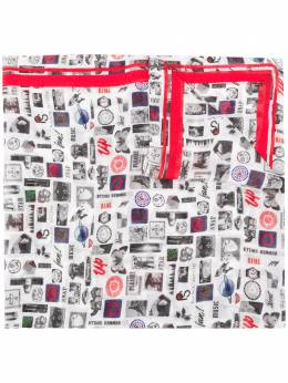 Paul Smith Summer Chills print scarf W2A283FAS07