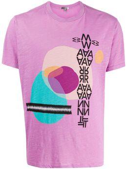 Isabel Marant футболка Ibiza с графичным принтом TS069620P061H