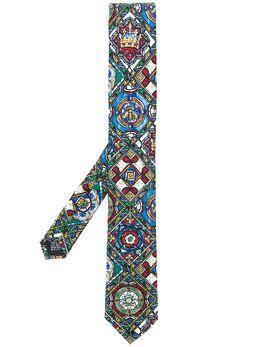 Dolce&Gabbana glass window print tie GT149EG0TDG