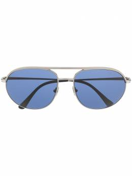 Tom Ford Eyewear double-bridge round-frame sunglasses FT0772