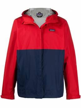 Patagonia куртка на молнии в стиле колор-блок 85240PFRE