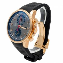 Iwc Portugieser Yacht Club Rose Gold Automatic Chronograph Men's Watch 43.5MM 272774