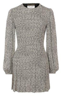Платье из вискозы Saint Laurent 608954/Y3A52