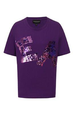 Хлопковая футболка Emporio Armani 3H2T7K/2J53Z