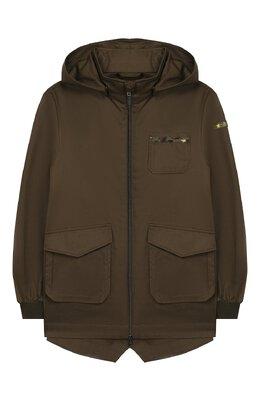 Хлопковая куртка Herno GC0020B/13218/10A-14A
