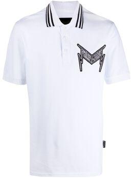 Philipp Plein рубашка-поло Statement P20CMTK4495PJY002N