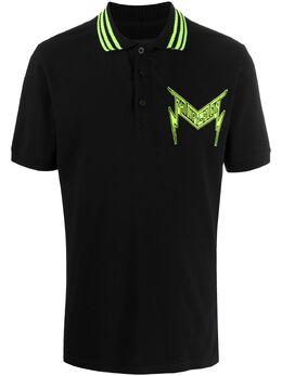 Philipp Plein рубашка-поло с вышитым логотипом P20CMTK4495PJY002N