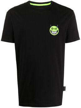 Philipp Plein футболка с нашивкой P20CMTK4486PJY002N