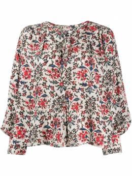 Isabel Marant блузка с абстрактным цветочным принтом HT130320P020I