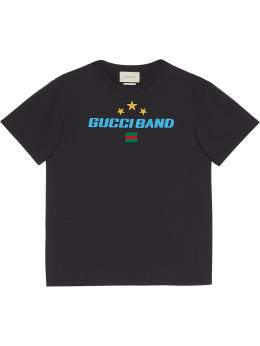 Gucci футболка оверсайз с принтом Gucci Band 565806XJB2W