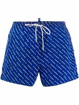 Dsquared2 logo swim shorts D7B643290ISA01