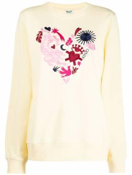 Kenzo embroidered motif sweatshirt FA55SW1294Z8