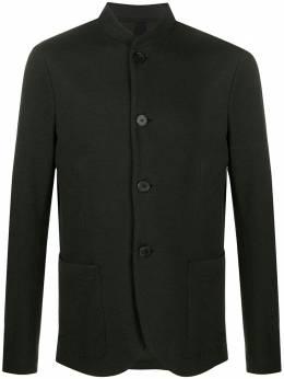 Harris Wharf London пиджак узкого кроя из ткани пике C9427PGE