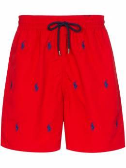 Polo Ralph Lauren embroidered logo swim shorts 710787322001