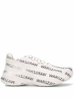 Misbhv кроссовки Warszawa с принтом 020BU412W