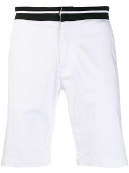 Karl Lagerfeld шорты чинос с отделкой в полоску 255811501801