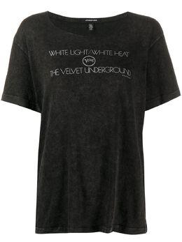 R13 футболка с принтом R13W358909
