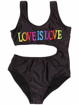 Alberta Ferretti Kids купальник Love Is Love 022177110