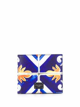 Dolce&Gabbana tile print bi-fold wallet BP1321AZ657
