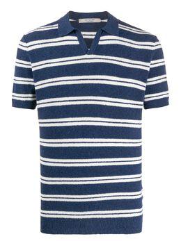 La Fileria For D'Aniello полосатая рубашка-поло с короткими рукавами 5714522404