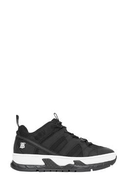 Черные кроссовки на контрастной подошве Burberry 10188394