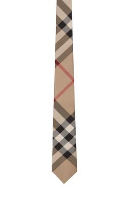 Классический клетчатый галстук Burberry 10187937