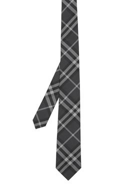Классический галстук в клетку Burberry 10188324