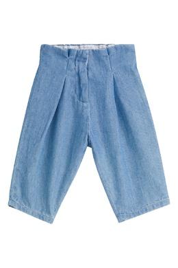 Синие джинсы с защипами Bonpoint 1210188508