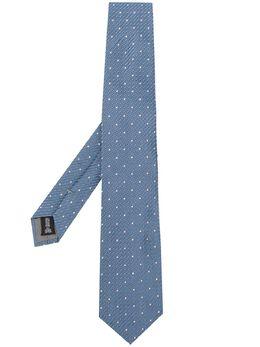 Emporio Armani фактурный галстук в горох 3400750P330
