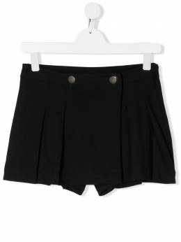 Moncler Kids юбка-шорты со складками 8H716108496F