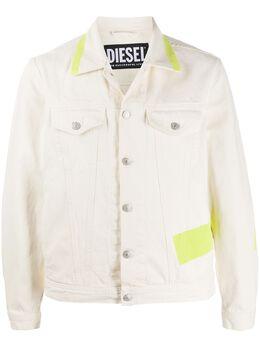 Diesel куртка с контрастными полосками 00SHFZ0DAYY
