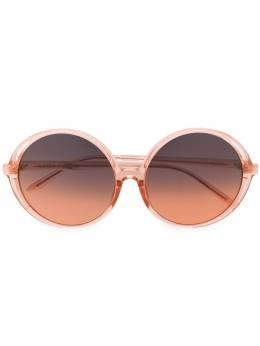 Linda Farrow солнцезащитные очки Bianca в круглой оправе LFL989C4SUN