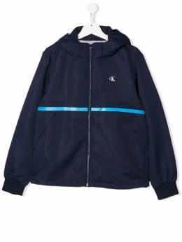 Calvin Klein Kids куртка с логотипом IB0IB00426