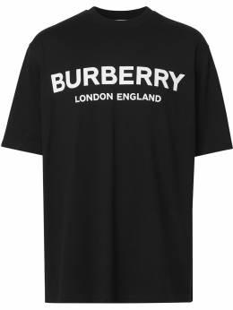 Burberry футболка с логотипом 8026016