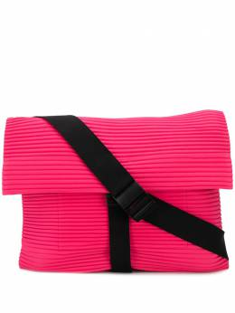 Homme Plisse Issey Miyake плиссированная сумка-мессенджер HP06AG51122